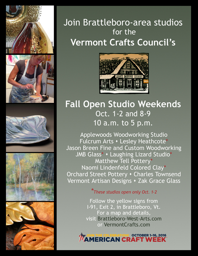 Brattleboro-West Arts/Vermont Crafts Council Open Studio Tour @ The studio of Naomi Lindenfeld | West Brattleboro | Vermont | United States